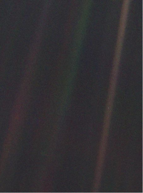 'Pale Blue Dot' Voyager I, NASA/JPL